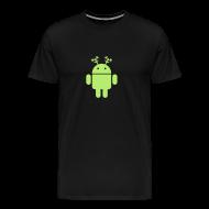 T-Shirts ~ Men's Premium T-Shirt ~ android christmas santa rudolf
