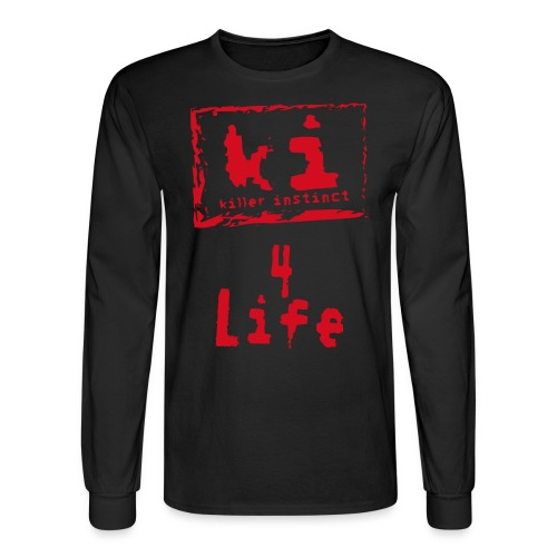 KI 4 Life long sleeve - Men's Long Sleeve T-Shirt