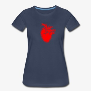 Bloody Heart - Women's Premium T-Shirt
