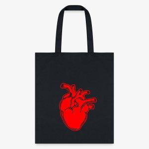 Bloody Heart - Tote Bag
