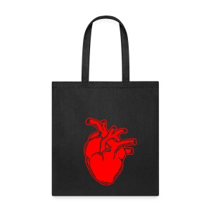 Bloody Heart - Tote Bag
