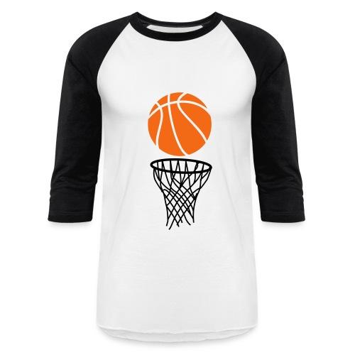 Basketball - Baseball T-Shirt
