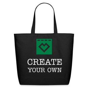 Create Your Own - Cotton Shopping Tote - Eco-Friendly Cotton Tote