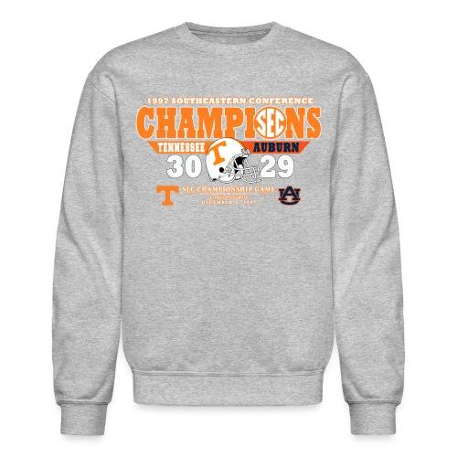Grey -Schedule on back - Crewneck Sweatshirt