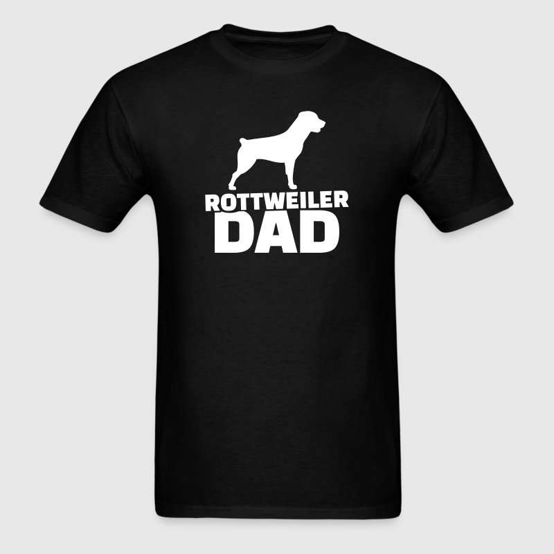 Rottweiler Dad T-Shirts - Men's T-Shirt
