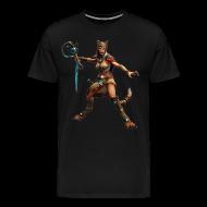 T-Shirts ~ Men's Premium T-Shirt ~ Smite Bastet Men's T-shirt