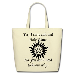 Yes I Carry Salt  - Eco-Friendly Cotton Tote