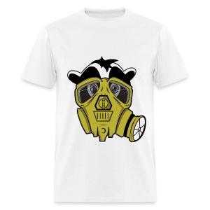 Gas Masked Skunk - Men's T-Shirt
