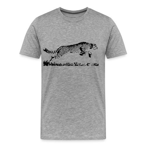 Running Cheetah - Men's Premium T-Shirt