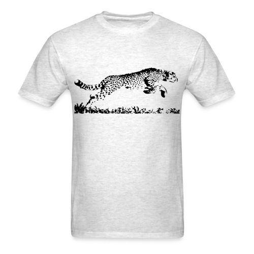 Running Cheetah - Men's T-Shirt