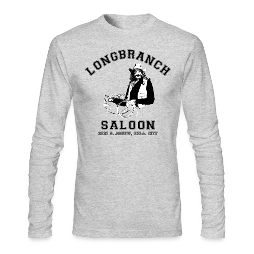 Longbranch OKC Longsleeve - Men's Long Sleeve T-Shirt by Next Level