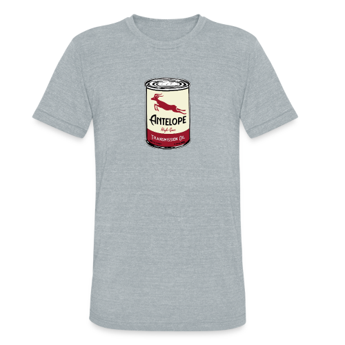 Antelope Oil - Unisex Tri-Blend T-Shirt by American Apparel