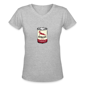 Antelope Oil - Women's V-Neck T-Shirt