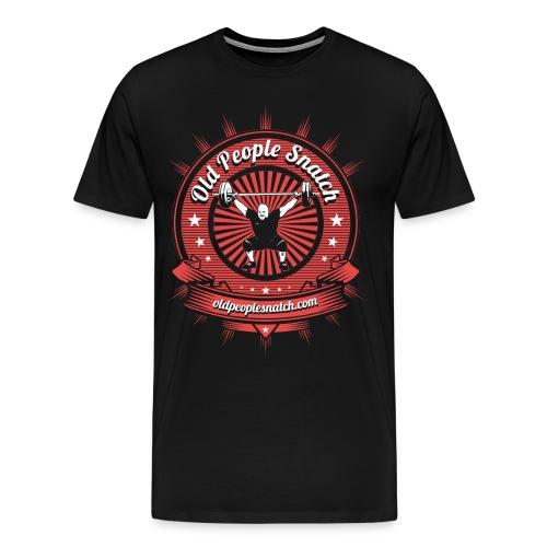 Men's Regular T-Shirt (Dark background) - Men's Premium T-Shirt