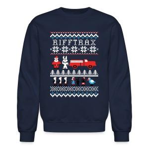 Men's Ice Cream Bunny Ugly Sweater  - Crewneck Sweatshirt