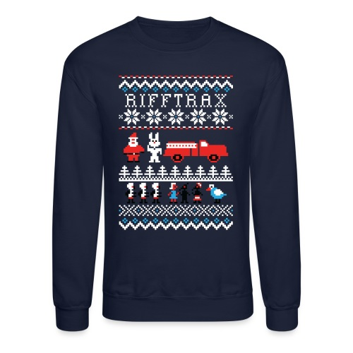 Men's Ice Cream Bunny Ugly Sweater  - Crewneck Sweatshirt