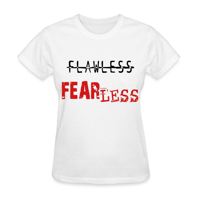 FLAWLESS- White & Red
