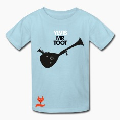 Mr. Toot Ylvis What does the Fox say T-Shirts