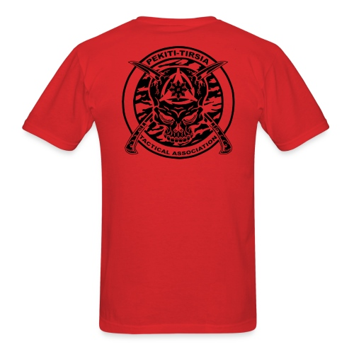 Blackbird Training Group - PTTA emblem on back - Men's T-Shirt