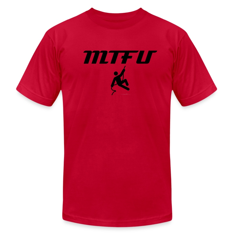 MTFU - Men's T-Shirt by American Apparel