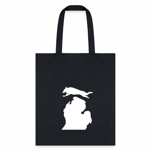 German Shepherd  Bark Michigan  dog bag - Tote Bag