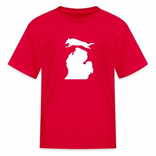 German Shepherd Bark Michigan children's shirt - Kids' T-Shirt