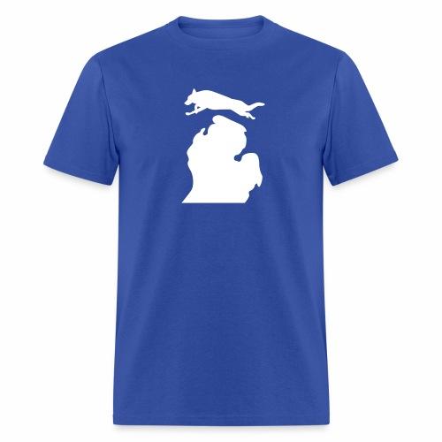 German Shepherd  Bark Michigan  mens shirt - Men's T-Shirt