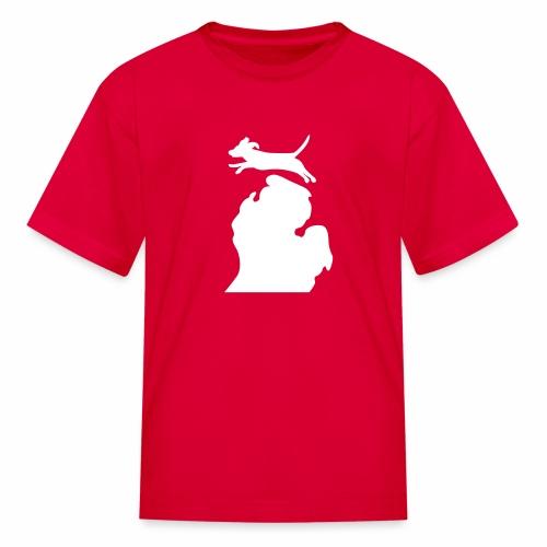 Beagle Bark Michigan children's shirt - Kids' T-Shirt