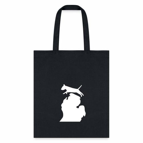 Bull Terrier Bark Michigan bag - Tote Bag