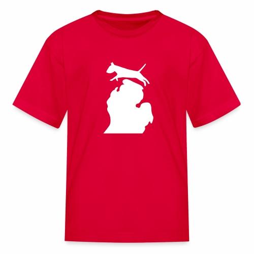Bull Terrier Bark Michigan children's shirt - Kids' T-Shirt