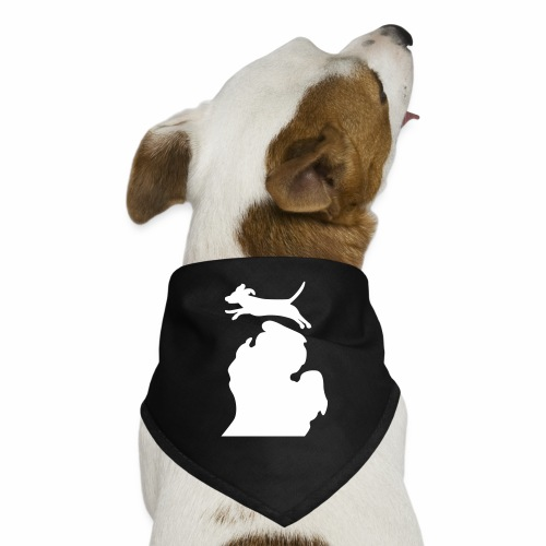 Beagle  Bark Michigan  dog bandanna - Dog Bandana