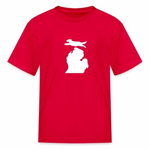 Golden Retriever Bark Michigan children's shirt - Kids' T-Shirt