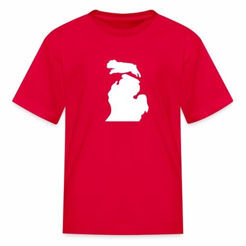Bulldog Bark Michigan children's shirt - Kids' T-Shirt