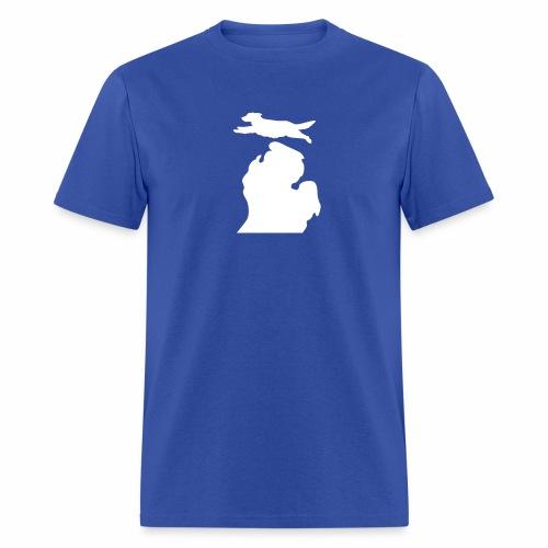 Golden Retriever  Bark Michigan mens shirt - Men's T-Shirt