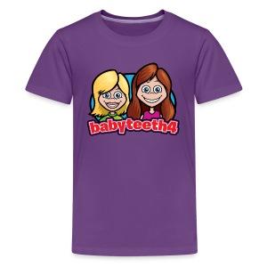 Babyteeth4 Kid's T-shirt, purple - Kids' Premium T-Shirt