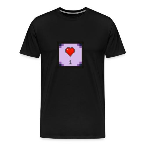 fireHeart T-Shirt - Men's Premium T-Shirt