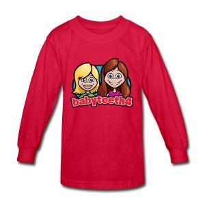 Babyteeth4 Kid's long-sleeve T-shirt - Kids' Long Sleeve T-Shirt
