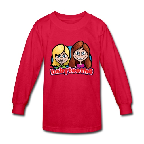 Babyteeth4 Kid's long-sleeve T-shirt - Kids' Long Sleeve T-Shirt