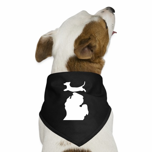 dachshund  Bark Michigan  dog bandanna - Dog Bandana