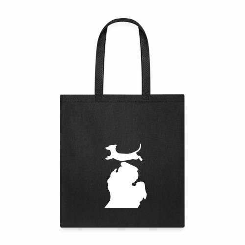 dachshund  Bark Michigan  dog bag - Tote Bag