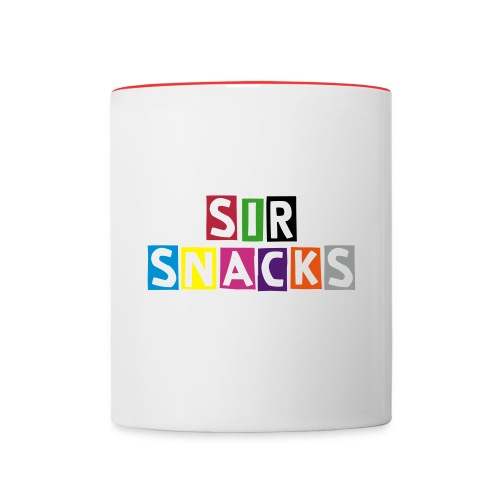 Mug --- Sir Snacks - Contrast Coffee Mug