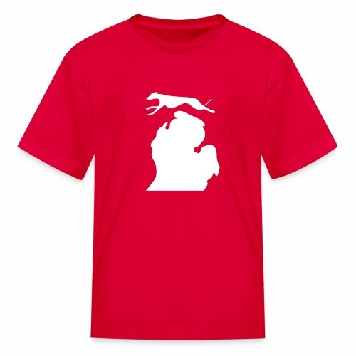 Greyhound Bark Michigan Children's shirt - Kids' T-Shirt