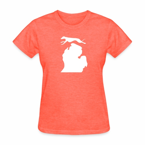 Greyhound Bark Michigan womens shirt - Women's T-Shirt