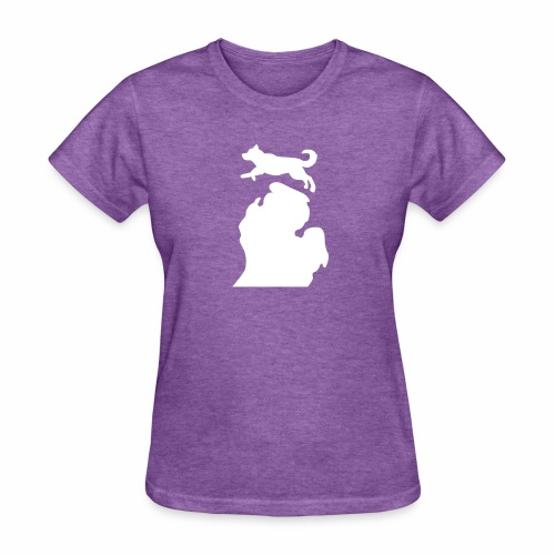 Husky Bark Michigan Shirt - Women's T-Shirt