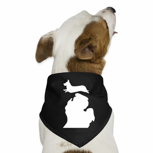 Corgi Bark Michigan Bandana - Dog Bandana
