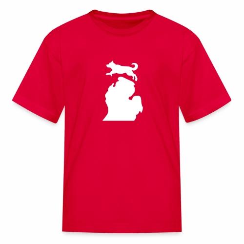Husky Bark Michigan children's Shirt - Kids' T-Shirt