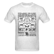 T-Shirts ~ Men's T-Shirt ~ Australian Shepherd 'Best in Show' T shirt