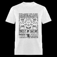 T-Shirts ~ Men's T-Shirt ~ Australian Shepherd 'Best in Show' T shirt