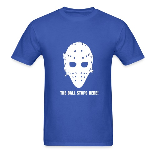 The ball stops here! - Men's T-Shirt
