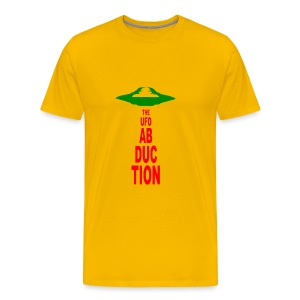 UFO Abduction - Men's Premium T-Shirt